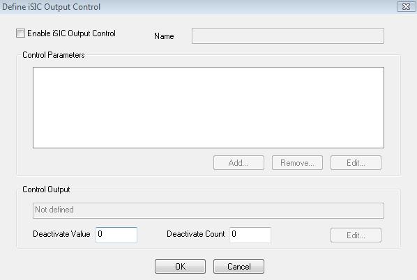 Define iSIC Output Control