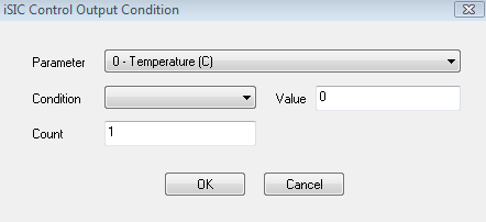 iSIC Control Output Condition