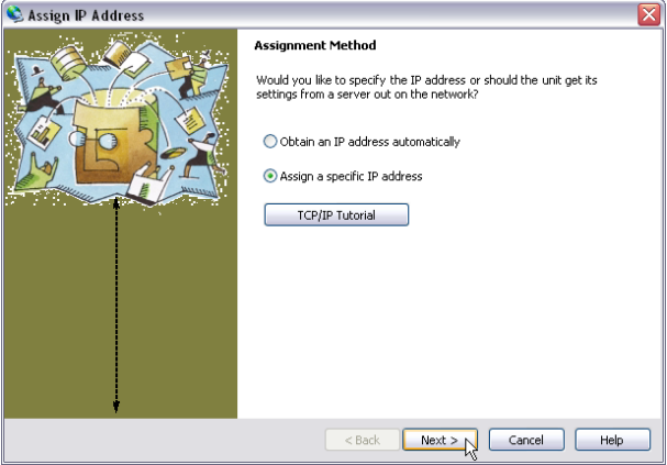 Assign IP Address 1