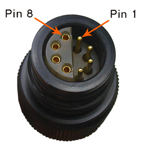 Pins on UW Plug