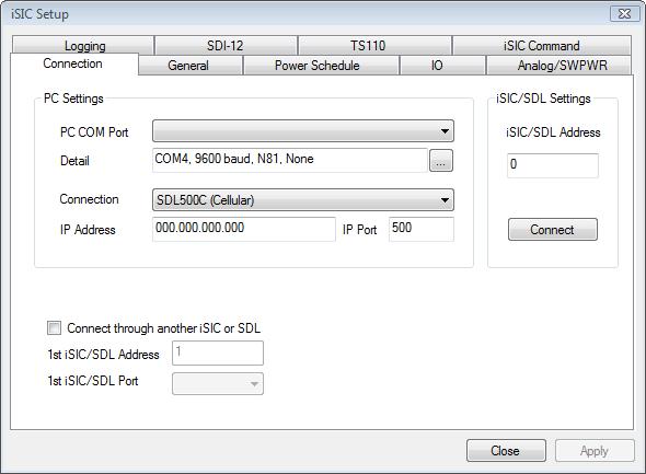 SDL500C Setup