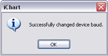 Successfully changed iSIC baud
