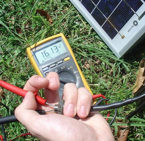 Testing solar on MS2