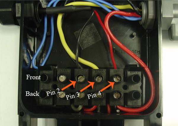 Voltage inside junction box