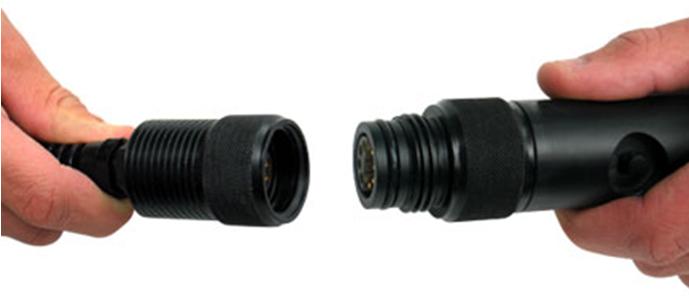 Underwater connection between T-Node sensor and UW cable