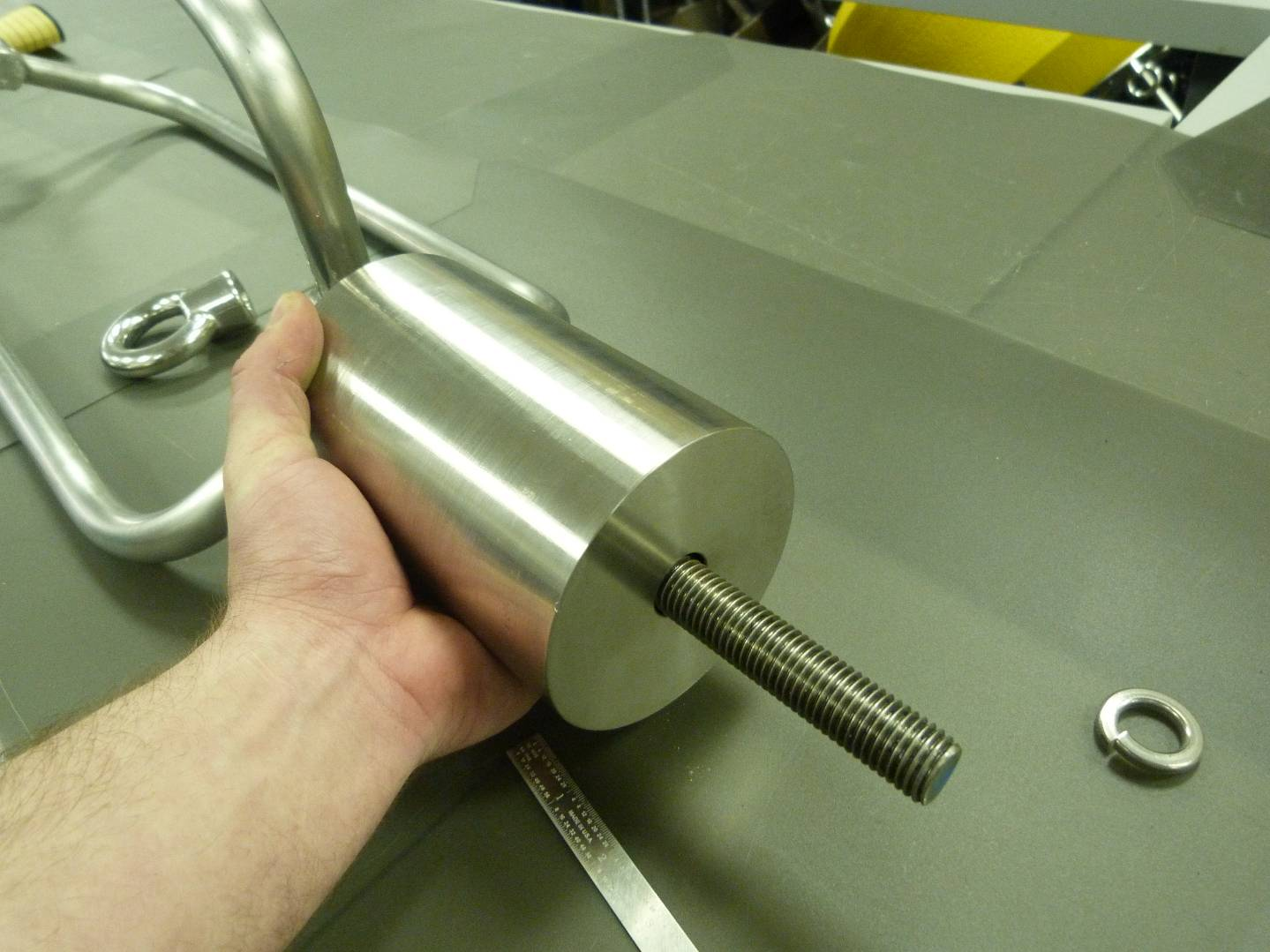 Inserting the Threaded Rod