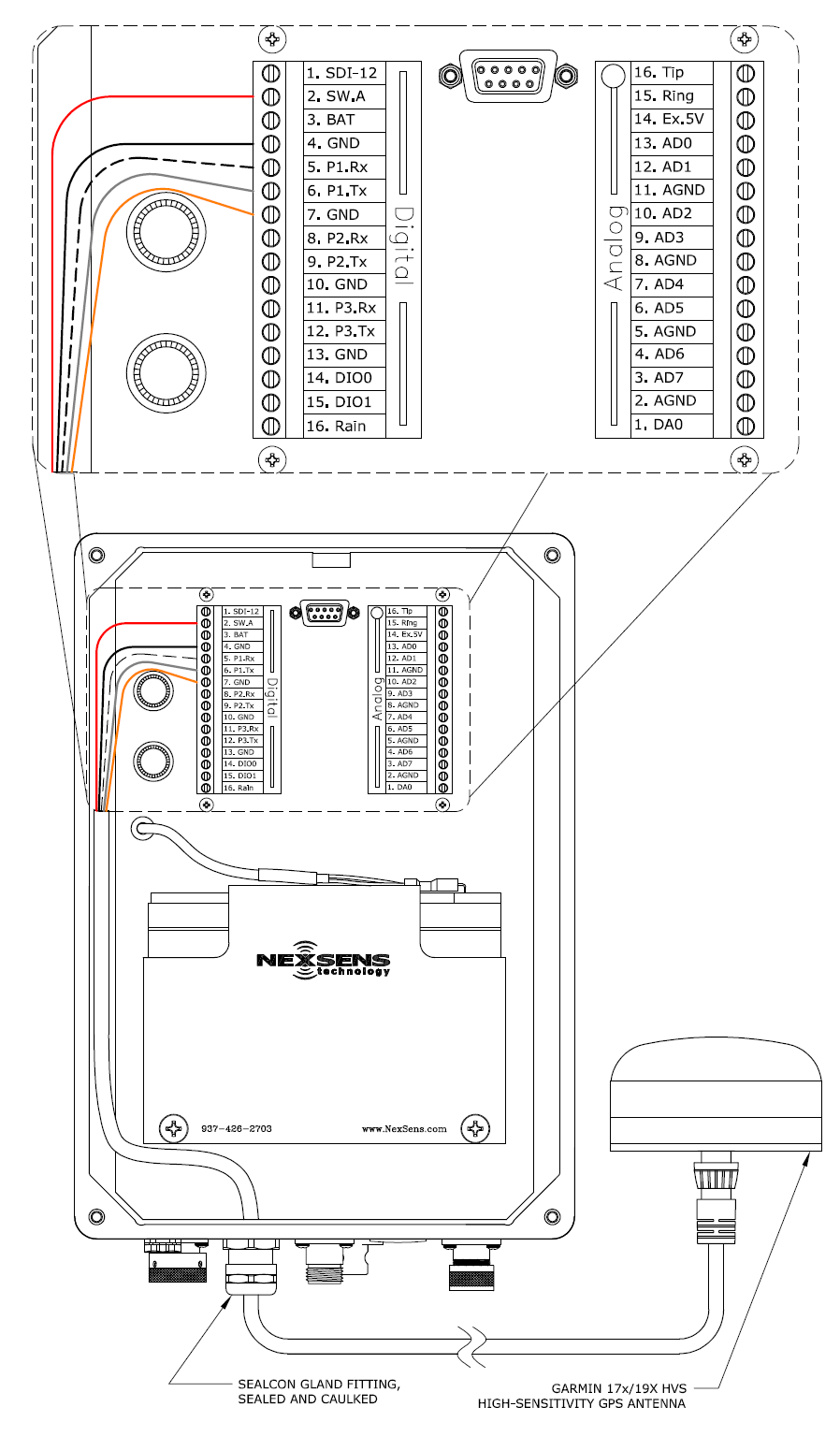 garmin wiring diagram 17 garmin 17x/19x hvs gps high-sensitivity antenna - nexsens ... garmin wiring diagram free download schematic #1