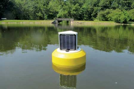 Campus pond buoy