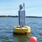 Michigan's Muskegon lake buoy