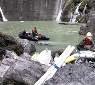dam hydrology tracking