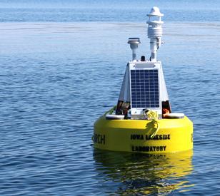 lake data buoy