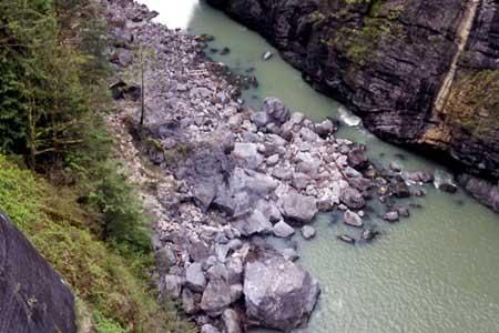 Washington dam hydrology tracking