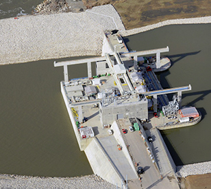Cannelton Dam Hydroelectric Project Nexsens Technology Inc