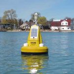 Stone Lab buoy tracks algae