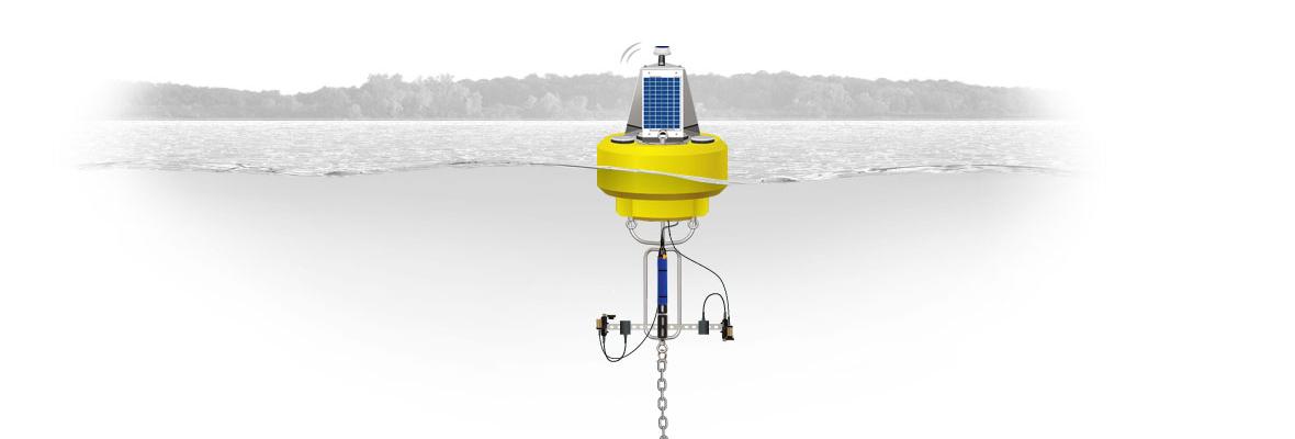 lake monitoring of water quality