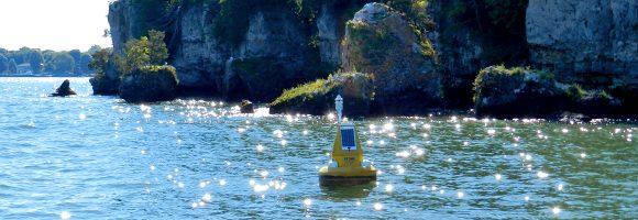 monitoring an iconic lake