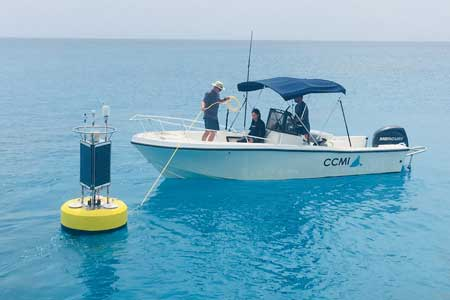 coral reef early warning system